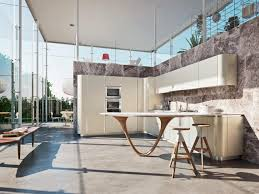 Nordic Kitchens by Ola 20 Bianco Nordic Fitted Kitchens From Snaidero Usa