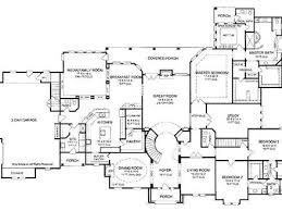 Bedroom House Plans  Bedroom House Floor Plans  Story Single - 5 bedroom house floor plans