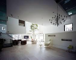 modern home design with nine car garage large living room