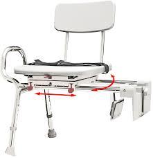 bathtub transfer bench carousel sliding transfer bench with snapnsave sliding tubmount transfer bench w swivel seat and back tub transfer bench shower chair bathtub