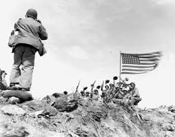 Flag Iwo Jima Marines Raised The Flag On This Day In 1945 For Iconic Corps Photo