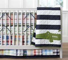 Pottery Barn Madras Curtains Alligator Madras Nursery Bedding Pottery Barn