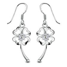 sterling silver earrings sensitive ears gold plated flower drop earring for sensitive ears ear stud