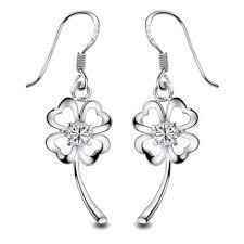 sterling silver earrings sensitive ears gold plated flower drop earring for sensitive ears ear stud