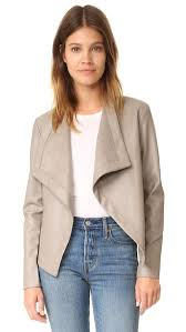 bb dakota bb dakota peppin vegan leather drapey jacket shopbop