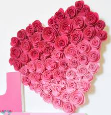 love sign with ombre rose heart the love nerds