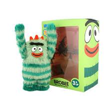 yo gabba gabba brobee 4 5 toy image designer