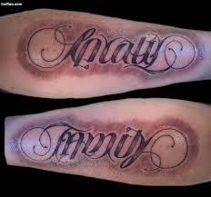 50 most wonderful ambigram tattoos best ambigram word tattoos