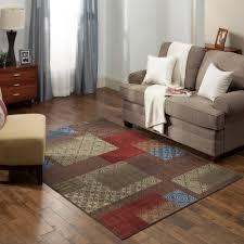 nylon area rugs mainstays payton 3 piece area rug set walmart com