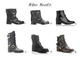 biker ankle boots biker boots style barista