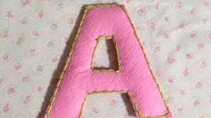 sewing letter templates how to make cute puffy felt letters diy crafts tutorial how to make cute puffy felt letters diy crafts tutorial guidecentral youtube