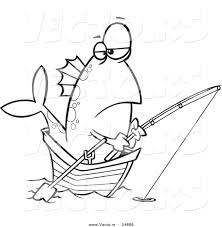 cartoon fishing boat clipart 46