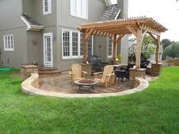 inspirations custom back yard ideas also backyard patio with