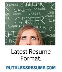 Latest Resumes Format by Resume Format Archives The Ruthless Resume