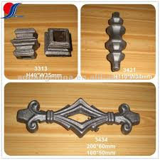 cast steel ornamental fence parts buy steel fence parts wrought