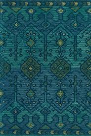 Ikat Indoor Outdoor Rug by Justina Blakeney Gemology Ikat Rug Teal