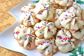 buttery bakery spritz cookies big a little a