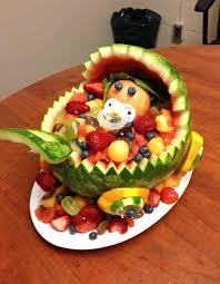 edible fruit basket watermelon baby shower ideas baby shower gift ideas