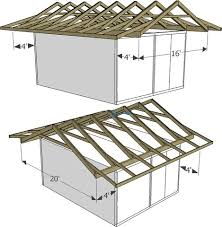 How To Build A Shed Roof House by Best 25 Roof Trusses Ideas On Pinterest Roof Truss Design Roof