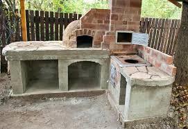 Outdoor Kitchen Pizza Oven Design Garden Pizza Oven Tetbi Club