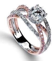 Wedding Engagement Rings by Classy Silver Jewelry Diamond Rings Mark Silverstein Split Shank