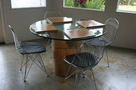 Dining Room  Pedestal Table Base For Glass Top Wood Granite Top - Glass top dining table montreal