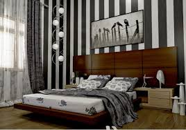 striped walls 20 bedroom ideas with striped walls home design lover