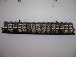 original wall mounted spice rack diy wooden wall mounted spice