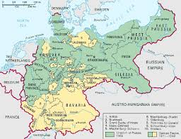 map of germany with states and capitals prussia history maps definition britannica