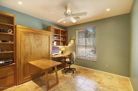 Murphy Bed With Desk Plans Traditional Home Office With Travertine Floors U0026 Art Desk In
