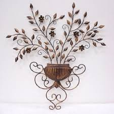 wall decor floral 1000 images about outdoor wall metal decorations