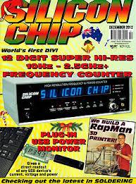 chip magazine silicon chip magazine 2012