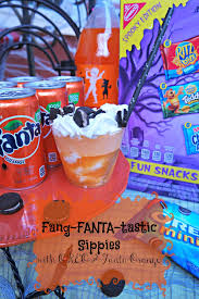 halloween snacks fang fanta tastic sippies with oreo cookies i