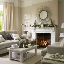 ideal home winter woodland christmas living room christmas living room