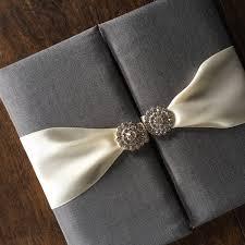 wedding invitations luxury charcoal rhinestone wedding invitation luxury wedding