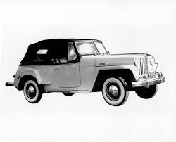 willys jeepster commando jeep heritage 1948 jeep willys jeepster the jeep blog