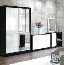 Gloss White Bedroom Furniture Bedroom Furniture Black And White High Gloss Bedroom Furniture