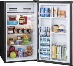 Cool Fridge To Keep Your Cans Cool Hold 10 Cans And by Frigidaire 3 3 Cu Ft Mini Fridge Silver Ffpe33b1qm Best Buy