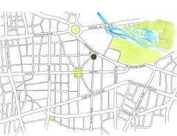 Berlin Germany Map by Hotelsteinplatz Com