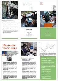 pamphlet templates u2013 6 beautiful designs for any business