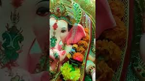 ganpati mandap decoration at home youtube