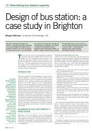 how to write a case study analysis paper design of bus station a case study in brighton pdf download design of bus station a case study in brighton pdf download available