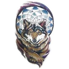 temporary dreamcatcher wolf dreamcatcher artwear