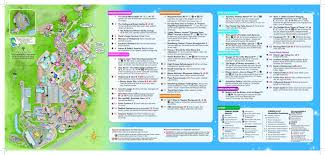 Map Of Hollywood Studios Hollywood Studios Gets New Park Maps Blog Mickey