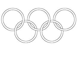 Coloriage jeux olympiques dhiver à imprimer