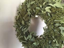 eucalyptus wreath seeded eucalyptus wreath