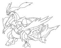 pokemon coloring pages white kyurem coloring pages pokemon alternate forms drawing