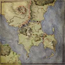 A World Map by Worldbuilding By Map