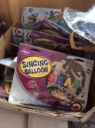singing balloon box of new packages of singing balloons graduation s day