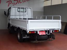 mitsubishi canter 1500kg all low deck diesel 4m40 japanese